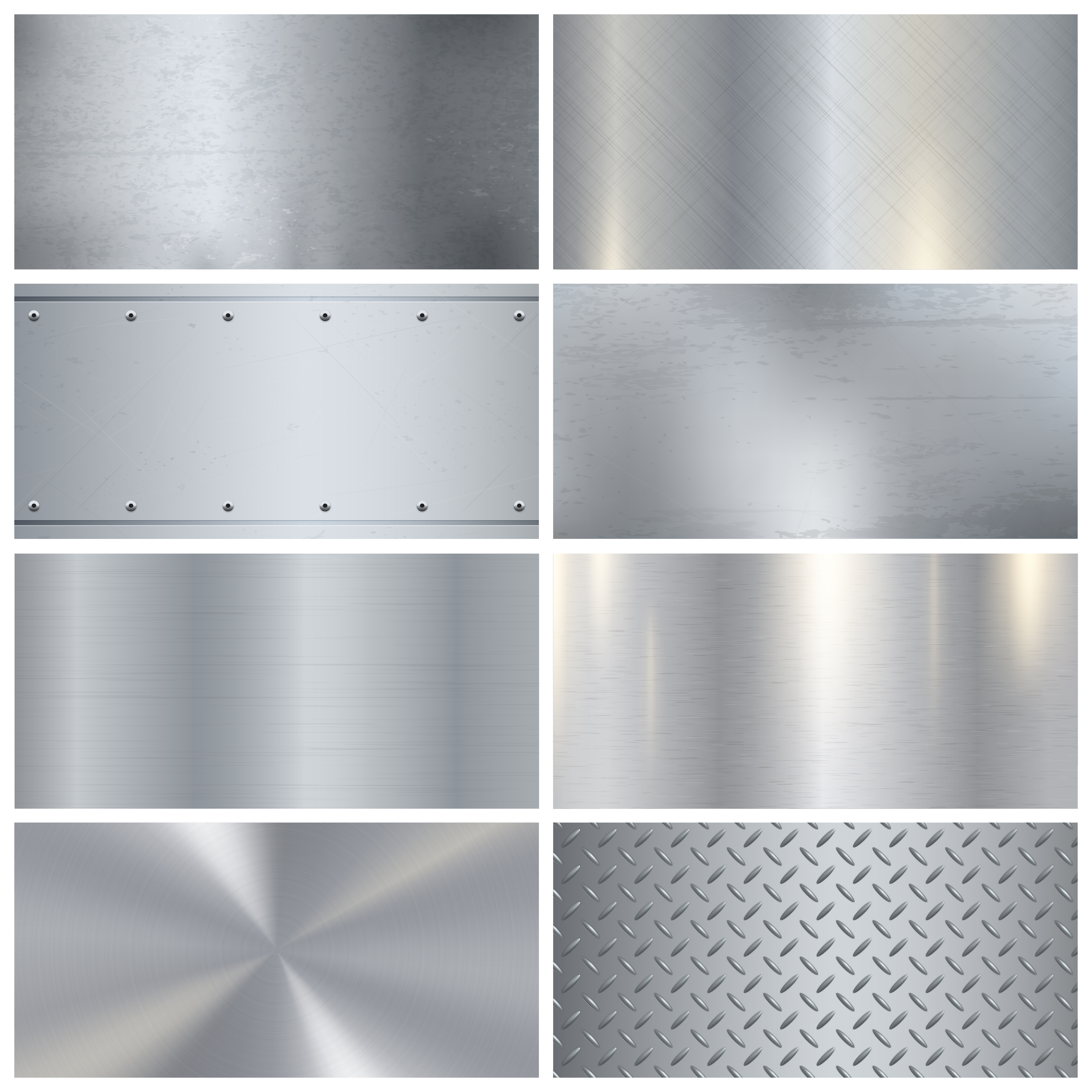 Metal Texture Realistic 3d Samples Collection Download