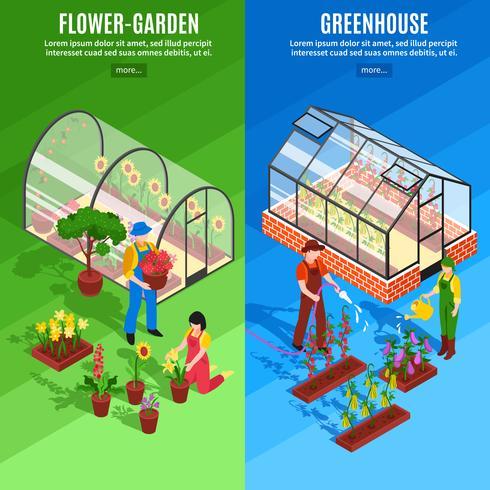 Greenhouse Vertical Banner Set