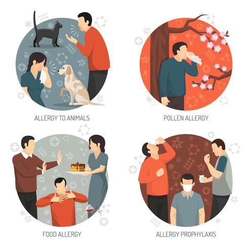 Allergisk Design Icon Set