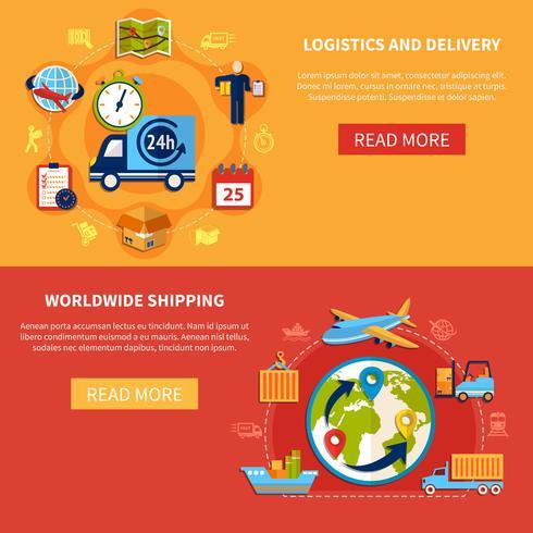 Logistikbannersammansättning