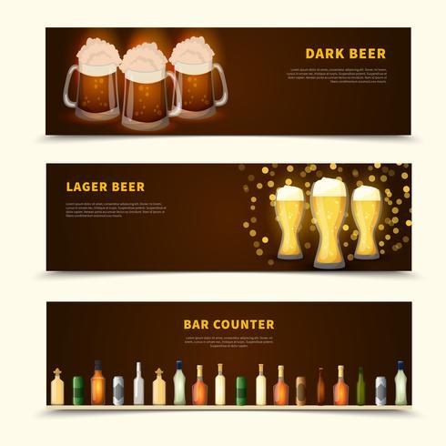 Beer Banners Set