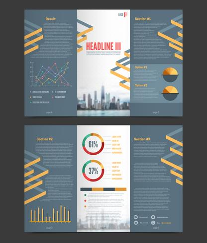 Two Fold Flyer Template