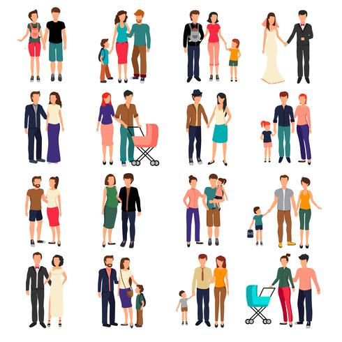 Famiglia piatta
