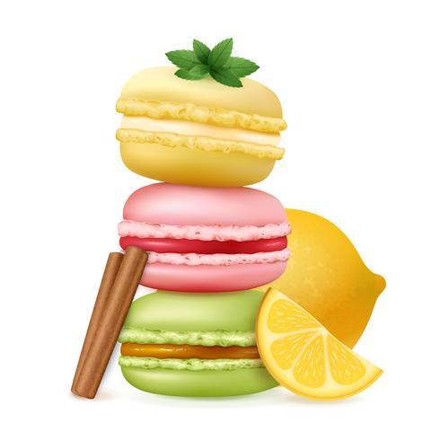 Tasty Ratafee Cakes Composition