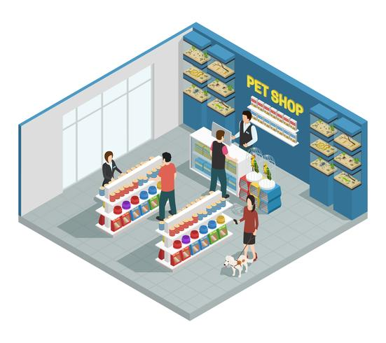 Composition de Pet Shop