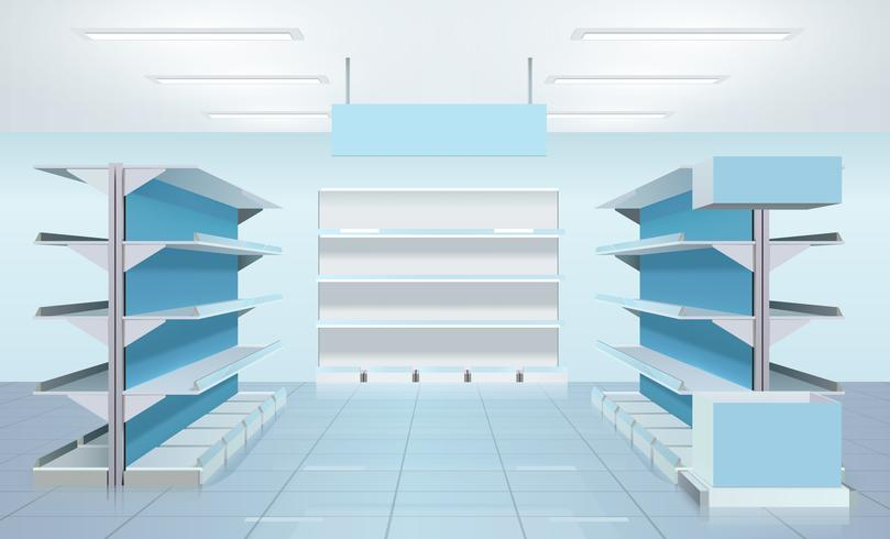 Tom Supermarket Shelves Design