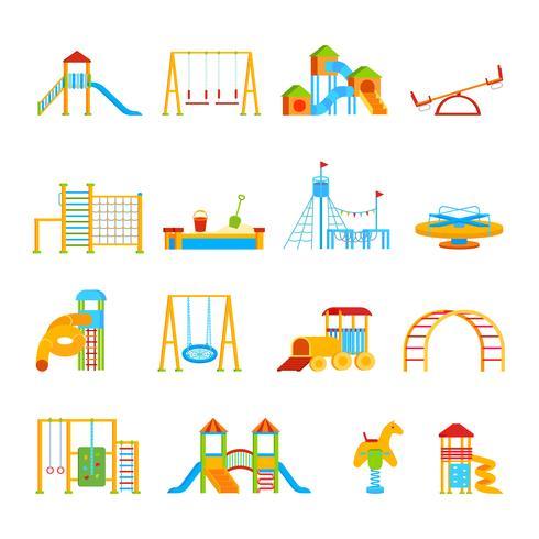 Speeltoestellen Icon Set