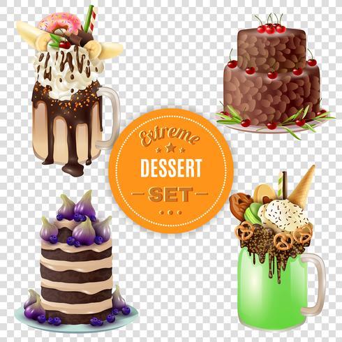 Extreme Dessert Combos Set Transparent
