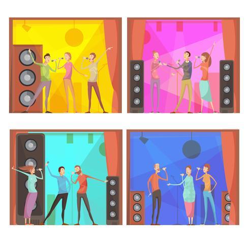 Set de composiciones de karaoke