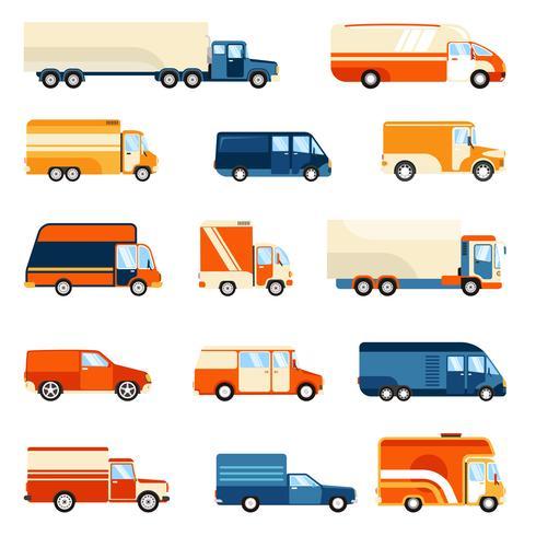 Lieferwagen eingestellt