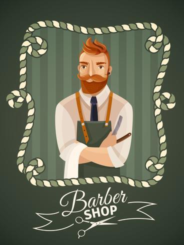 Plantilla de póster - peluquería