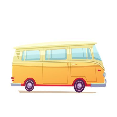Surf Bus Illustration vector