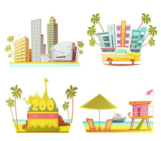 Conceito de Design Miami 2x2