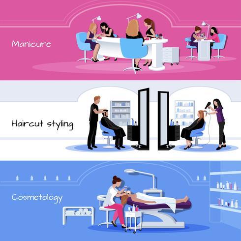 Beauty Salon Service horizontale Banner