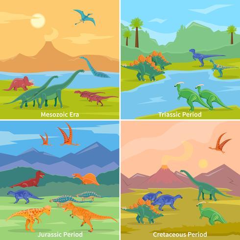 Dinossauros 2x2 Design Concept
