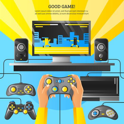 Game Gadget Illustration vector