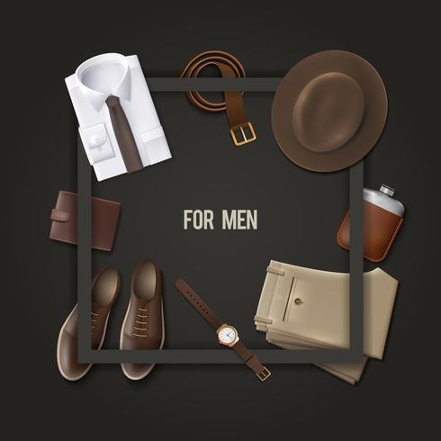 Men Wear Fashion Concept