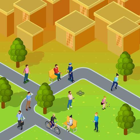 Stadtgesellschaft Zusammensetzung