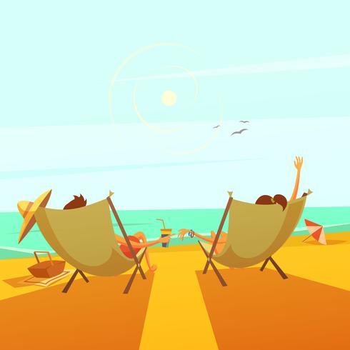 strandstöd illustration