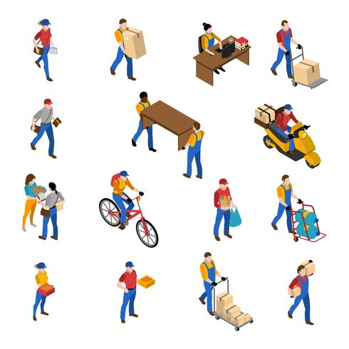 Logistics And Delivery Icons Set  vector