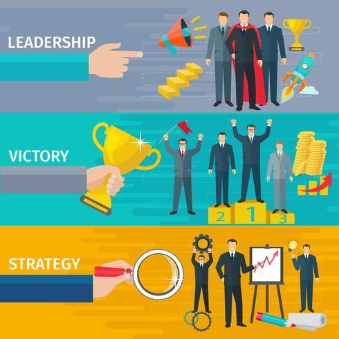 Leadership Banners Set