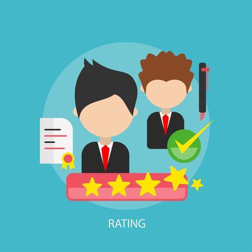 Rating Conceptual illustration Design