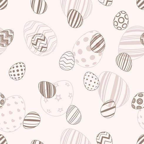 Gelukkige Pasen - naadloos eipatroon