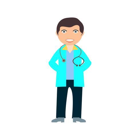 Docteur Flat Multi Color Icon