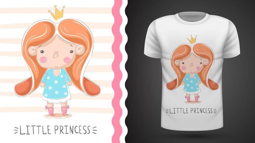Little princess - idea for print t-shirt