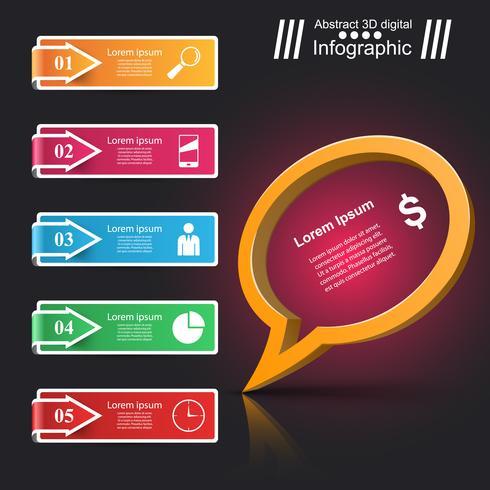 Icône de bulles de parole. Informations sur la boîte de dialogue.