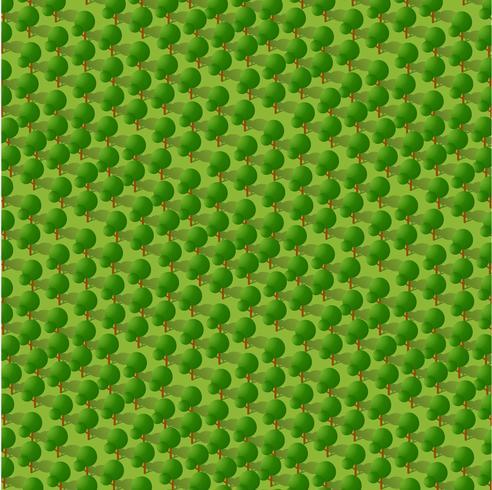 Parc 3d isométrique avec un green