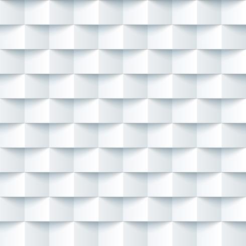 Papier, vierkant, origami naadloos patroon.