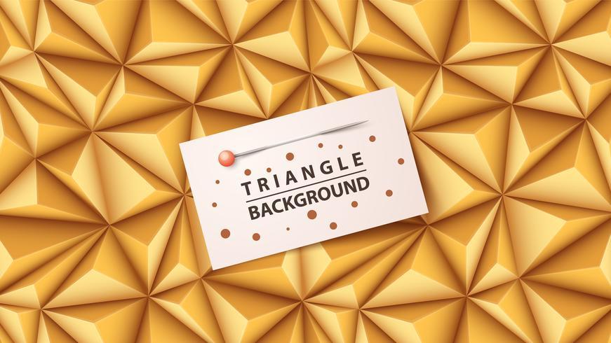 Plantilla de documento de negocios - fondo de origami.