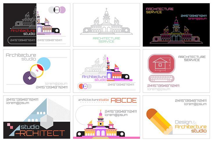 Visitekaartjes van Architecture Studio