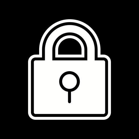 Lock Icon Design vector