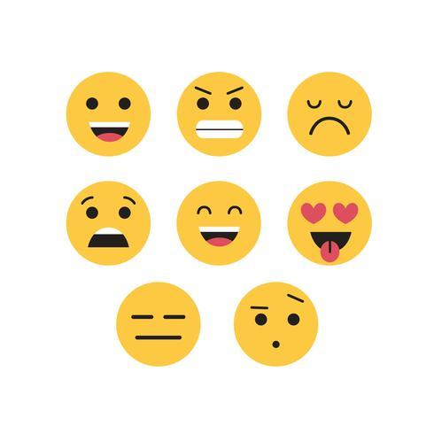 Conjunto de vectores emojis