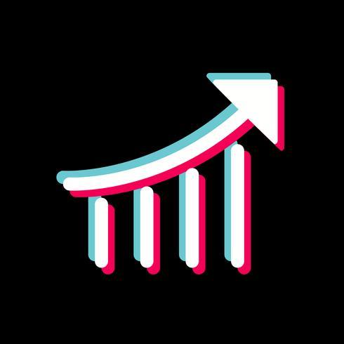disegno dell'icona di prestazione di seo