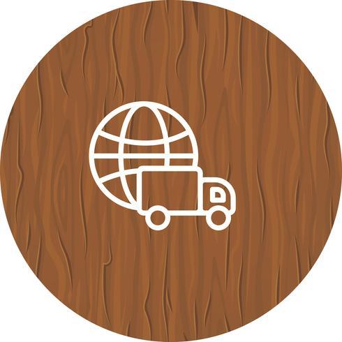Entrega Global Icon Design