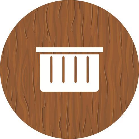 Design de ícone de cesta