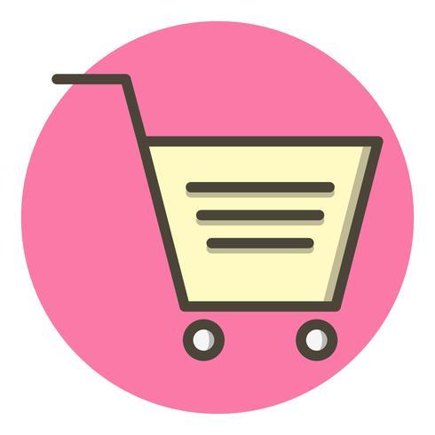 Design de ícone de carrinho de compras