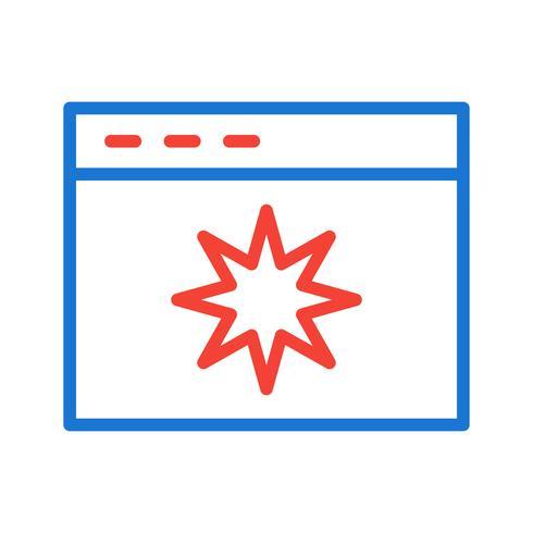 Disegno dell'icona di qualità della pagina