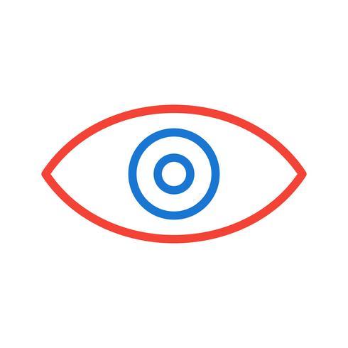 Icon-Design anzeigen vektor