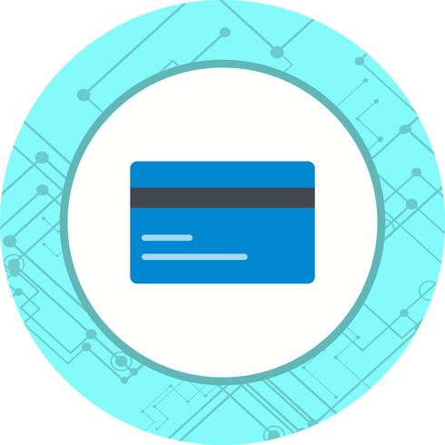 Kreditkarten-Icon-Design vektor
