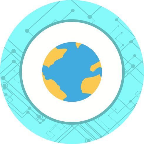 Diseño de icono de globo