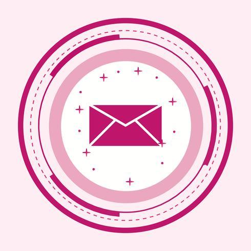 Posteingangs-Icon-Design vektor
