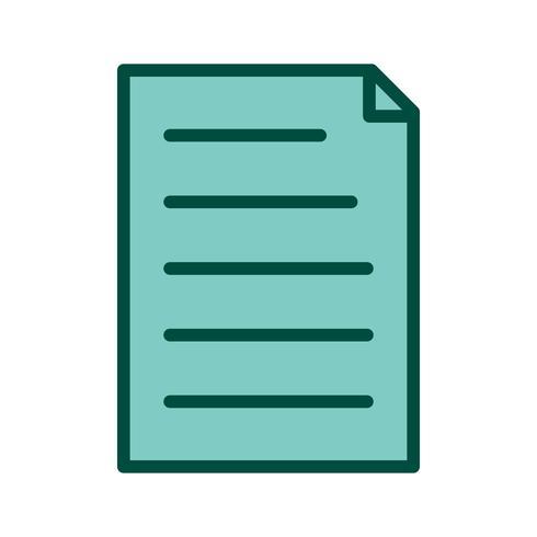 Dokument Ikon Design