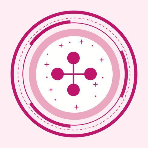 länk byggnad ikon design
