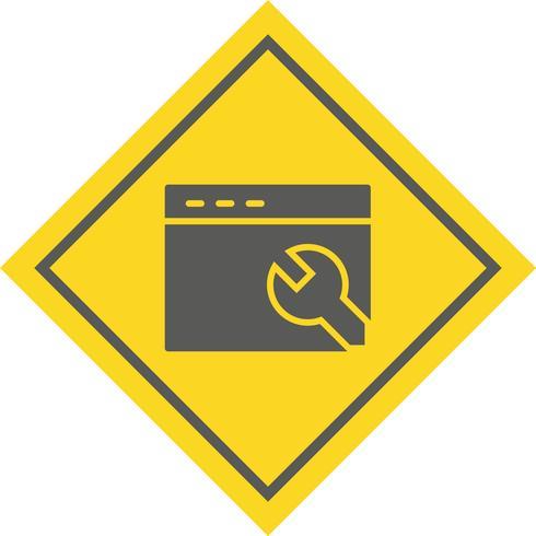 Paramètres du navigateur Icône Conception