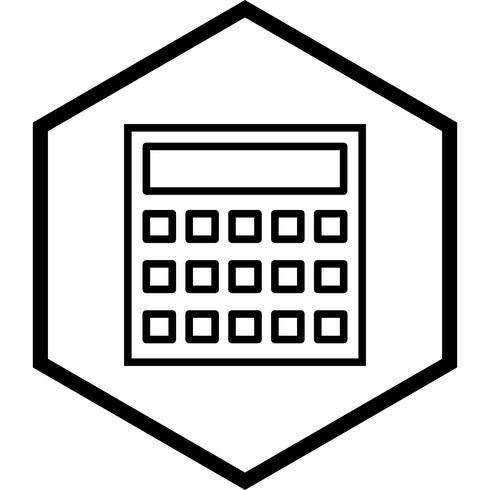 Disegno dell'icona di calcolo