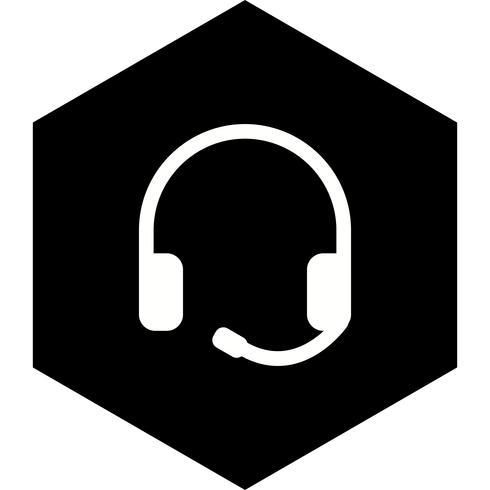 Design de ícone de fones de ouvido